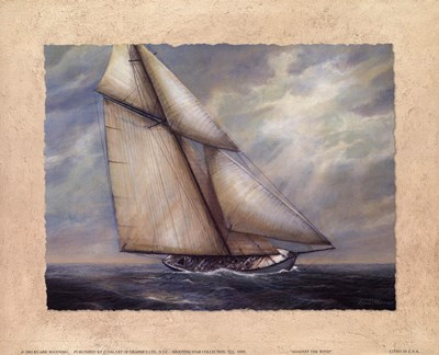 Against the Wind art print by Rick Mundy for $11.25 CAD