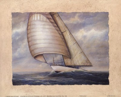Wind and Sea art print by Rick Mundy for $11.25 CAD