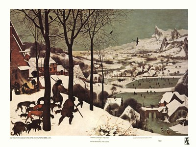 Winter/Hunters in the Snow art print by Unknown for $11.25 CAD