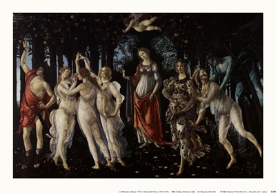 Primavera art print by Sandro Botticelli for $11.25 CAD
