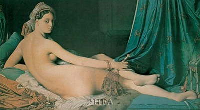 Odalisque art print by Jean-Auguste-Dominique Ingres for $25.00 CAD