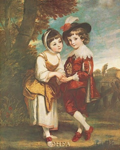 The Young Fortune Teller art print by Sir Joshua Reynolds for $27.50 CAD