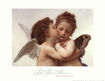 The First Kiss art print by William Adolphe Bouguereau for $21.25 CAD
