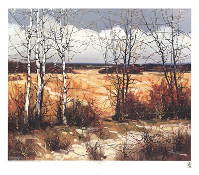 Autumn Afternoon art print by Tin Yan for $25.00 CAD