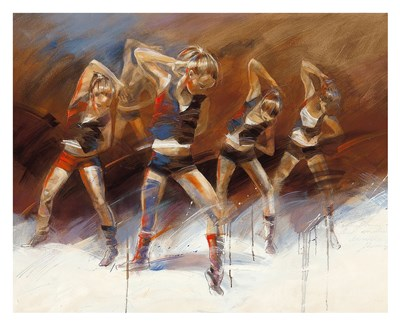 Dance Up art print by Kitty Meijering for $72.50 CAD