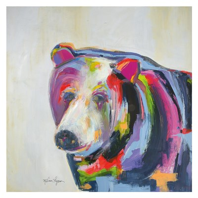 Grizzly Bear art print by Melissa Lyons for $88.75 CAD
