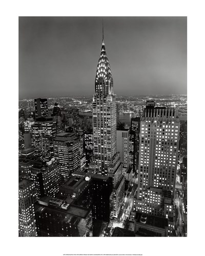 New York, New York, Chrysler Building at Night art print by Henri Silberman for $21.25 CAD