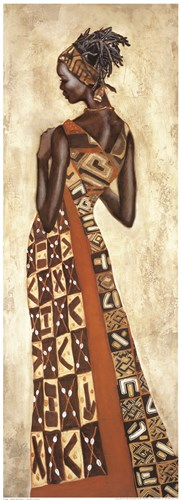 Femme Africaine II art print by Jacques Leconte for $68.75 CAD
