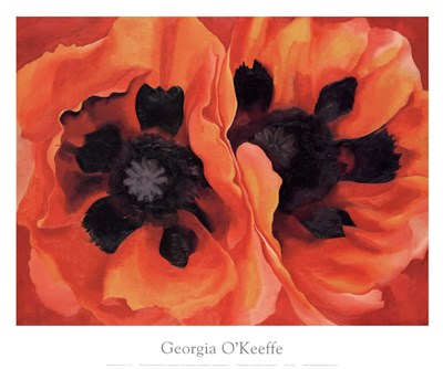 Oriental Poppies, 1928 art print by Georgia O'Keeffe for $77.50 CAD