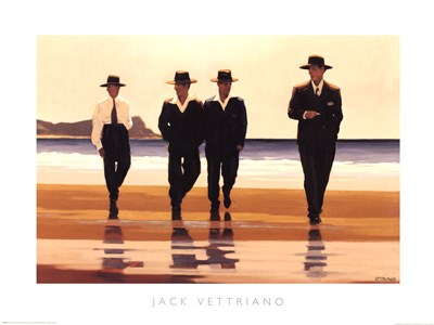 The Billy Boys art print by Jack Vettriano for $60.00 CAD