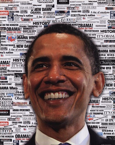 Obama - Headlines art print by AP Photos for $12.50 CAD