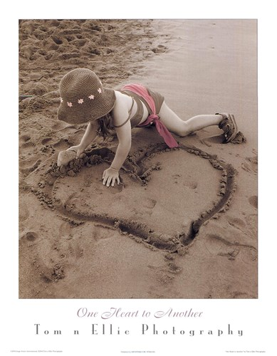 One Heart To Another art print by Photography Tom N Ellie for $18.75 CAD