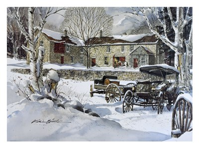 Carriage Works art print by William Biddle for $60.00 CAD