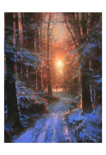 Winter's Embrace art print by Brent Cotton for $20.00 CAD