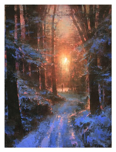 Winter's Embrace art print by Brent Cotton for $60.00 CAD