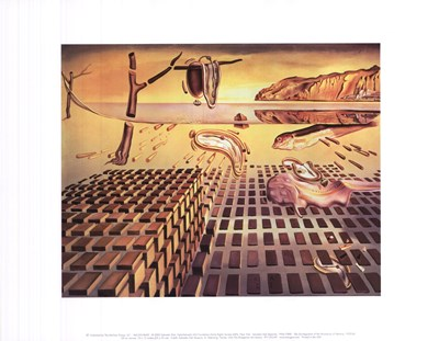 The Disintegration of the Persistence of Memory, c.1954 art print by Salvador Dali for $16.25 CAD