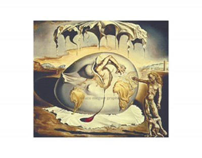 Geopoliticus Child Watching the Birth of the New Man, c.1943 art print by Salvador Dali for $15.00 CAD