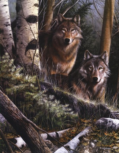Watchful Eyes art print by Kevin Daniel for $52.50 CAD