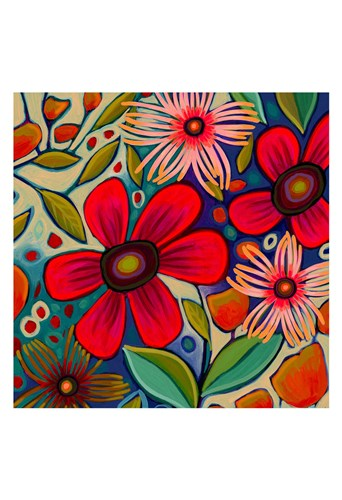 Floral Gala II art print by Peggy Davis for $20.00 CAD