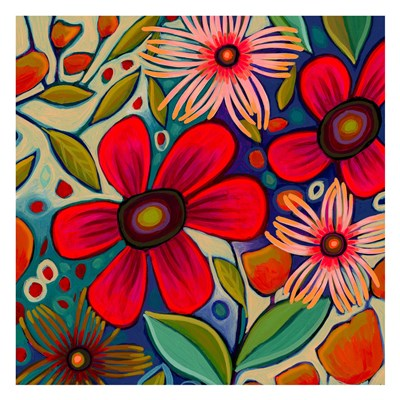 Floral Gala II art print by Peggy Davis for $60.00 CAD