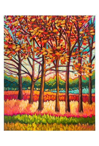 Coral Forest art print by Peggy Davis for $20.00 CAD