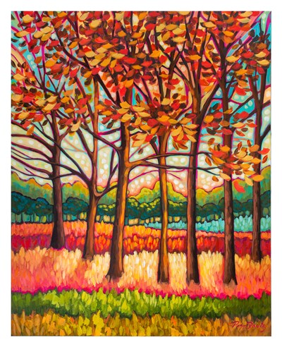 Coral Forest art print by Peggy Davis for $60.00 CAD
