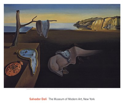 The Persistence of Memory, c.1931 art print by Salvador Dali for $86.25 CAD