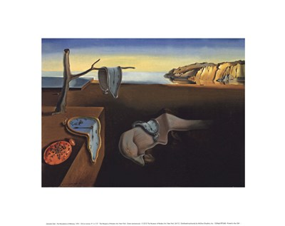 The Persistence of Memory, c.1931 art print by Salvador Dali for $32.50 CAD