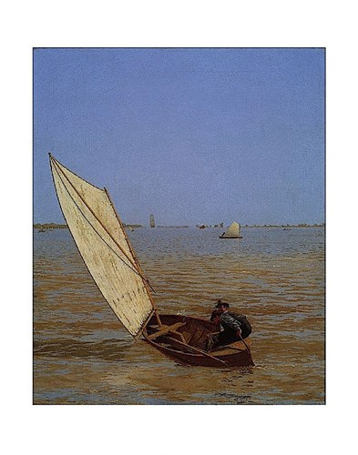 Starting Out After Rail, 1874 art print by Thomas Eakins for $16.25 CAD
