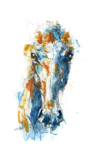 Face to Face 36t art print by Benedicte Gele for $20.00 CAD