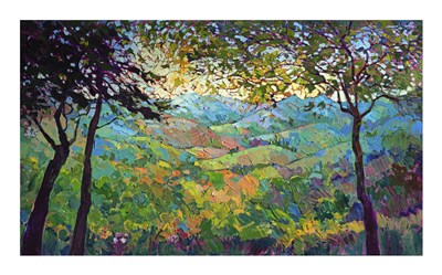 Vineyard View art print by Erin Hanson for $32.50 CAD
