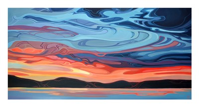 Sky Stratum art print by Erica Hawkes for $32.50 CAD