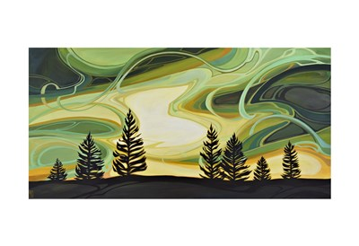Enchanted Sky art print by Erica Hawkes for $20.00 CAD