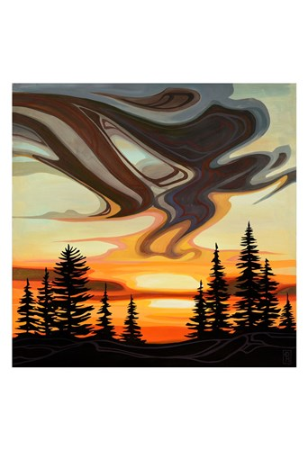 Sky Treasures art print by Erica Hawkes for $20.00 CAD