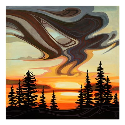 Sky Treasures art print by Erica Hawkes for $40.00 CAD