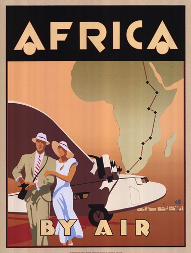Africa by Air art print by Bill James for $33.75 CAD