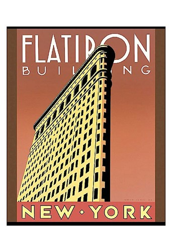 Flatiron Building art print by Brian James for $20.00 CAD