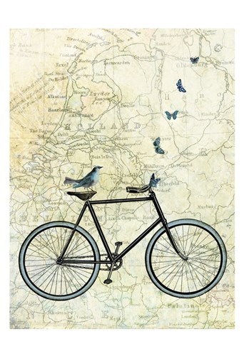 Bike Country art print by Marion McConaghie for $20.00 CAD