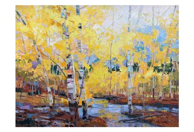 Amarillo Autumn art print by Robert Moore for $20.00 CAD