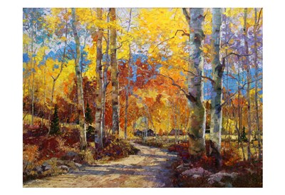 Road Less Traveled art print by Robert Moore for $20.00 CAD