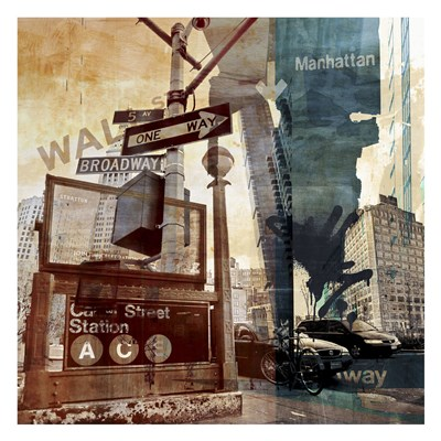 Wall Street 6 art print by Sven Pfrommer for $60.00 CAD