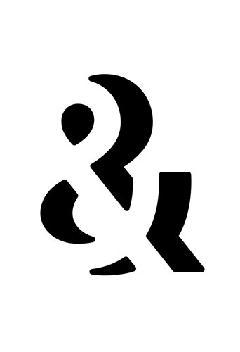 Ampersand art print by Simon C. Page for $20.00 CAD