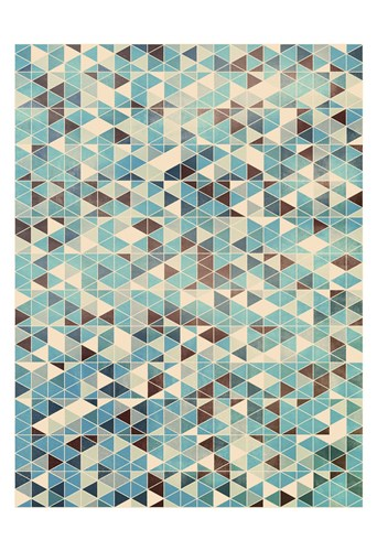 Grunge Geometry art print by Simon C. Page for $20.00 CAD