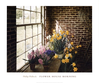 Flower House Morning art print by Phillip Philbeck for $32.50 CAD