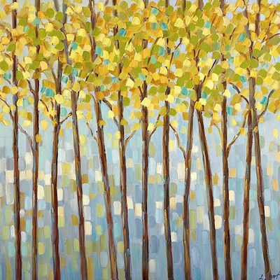 Glistening Tree Tops art print by Libby Smart for $20.00 CAD