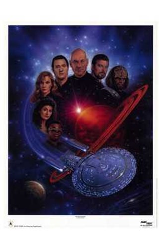 Star Trek: The Next Generation art print by Unknown for $26.25 CAD