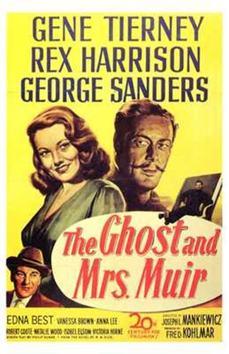 The Ghost and Mrs Muir movie poster art print by Unknown for $26.25 CAD