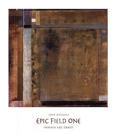 Epic Field One art print by John Douglas for $50.00 CAD