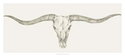 Western Skull Mount III art print by Ethan Harper for $81.25 CAD