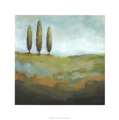 Singing Trees I art print by Christina Long for $81.25 CAD